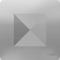 Рамка Unica Studio (алюминий)