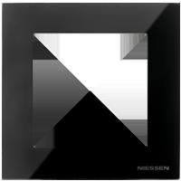 Рамка Sky Niessen (черное стекло)
