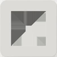 Рамка E3 Soft Touch (soft touch светло-серый/антрацит)