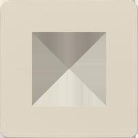 Рамка Unica Studio Color (бежевый/бежевый)