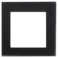 Рамка Atlas Design Nature (матовое черное стекло)