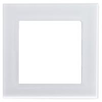 Рамка Atlas Design Nature (матовое белое стекло)