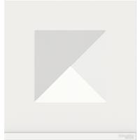 Рамка Unica Pure (белое стекло/белый)