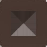 Рамка Unica Studio Color (шоколад/белый)