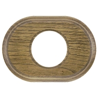 Рамка Овал (дуб зеленый)