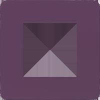 Рамка Unica Studio Color (лиловый/белый)
