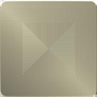 Рамка Unica Studio Metal (бронза/белый)