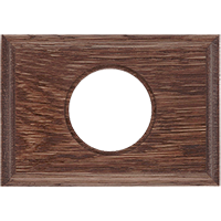 Рамка Прямоугольник (дуб коричневый)