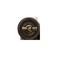 Клавиша Venezia Oval (бронза / коричневый)