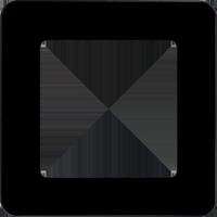Рамка Q.7 (стекло черное)