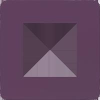 Рамка Unica Studio Color (лиловый/бежевый)