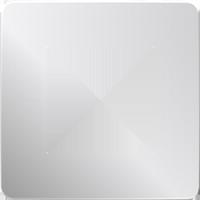 Рамка Unica Studio Metal (хром/антрацит)