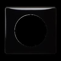 Рамка Celiane Классика (черный глянец)