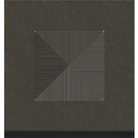 Рамка Unica Pure (камень/антрацит)