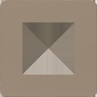 Рамка Unica Studio Color (песочный/антрацит)