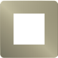 Рамка Unica Studio Metal (бронза/бежевый)