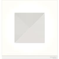 Рамка Unica Pure (матовое белое стекло/белый)