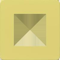 Рамка Unica Studio Color (зелёное яблоко/белый)
