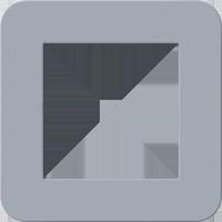 Рамка E3 Soft Touch (soft touch серо-голубой/антрацит)