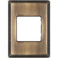 Рамка Venezia Metal Square (бронза)