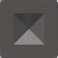 Рамка Unica Studio Color (дымчато-серый/белый)