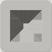 Рамка E3 Soft Touch (soft touch серый/антрацит)