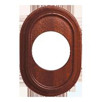 Рамка Venezia Oval (сапелли)