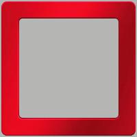Рамка Q.1 (красный, с эффектом бархата)