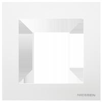 Рамка Sky Niessen (альпийский белый)