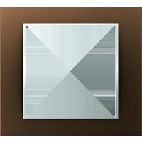 Рамка B.3 (коричневый/полярная белизна)