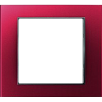 Рамка B.3 (красный/антрацит)
