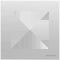 Рамка Sky Niessen (нержавеющая сталь)