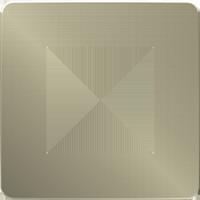 Рамка Unica Studio Metal (бронза/антрацит)