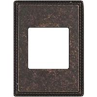 Рамка Venezia Metal Square (медь)