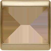 Рамка Arsys (металл под золото)