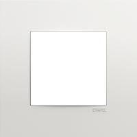 Рамка QUADRO 45 (белый)