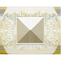 Рамка Sanremo (white decape)