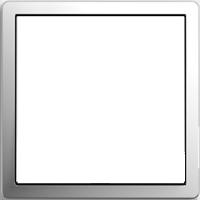 Рамка F100 (пластик под хром)