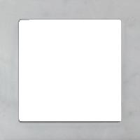 Рамка Aura Stein (натуральный камень белый мрамор)