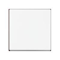 Клавиша Busch-axcent (пластик белый глянец)