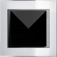 Рамка Event Clear (пластик прозрачный белый-алюминий)