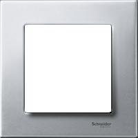 Рамка M-Elegance Металл (металл платина-серебро)
