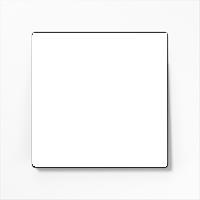 Рамка A Creation (пластик белый глянцевый)