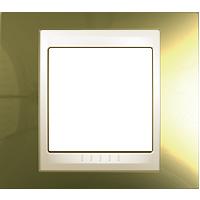 Рамка Unica Хамелеон (золото/бежевый)
