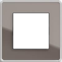 Рамка Esprit (стекло дымчатое glass c)