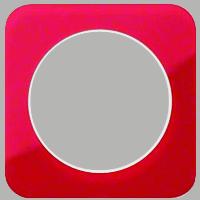 Рамка R1 (акрил красный/белый)