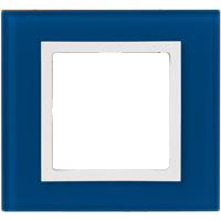 Рамка Simon 82 Nature (синее стекло)