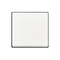 Клавиша Carat (пластик белый глянец)