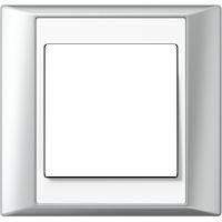 Рамка A Plus (алюминий-белый)