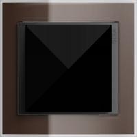 Рамка Event Clear (пластик прозрачный коричневый-антрацит)